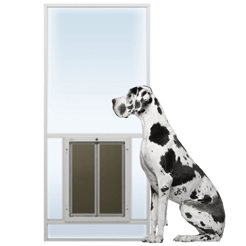 PlexiDor Sliding Glass Dog Door Insert