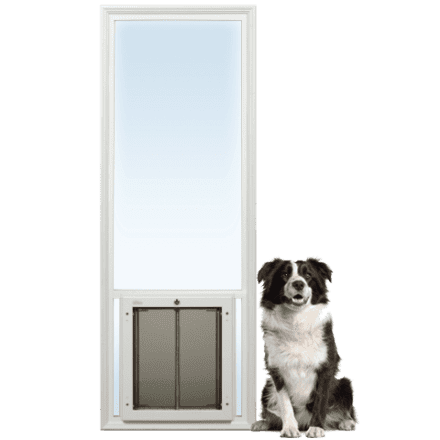 PlexiDor French Door Insert from Glass Series dog doors