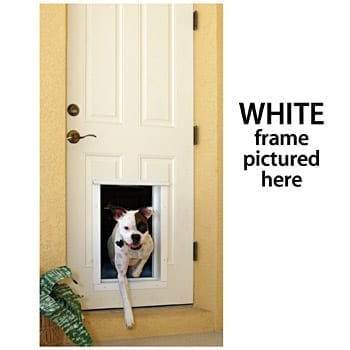 PlexiDor Electronic pet door white