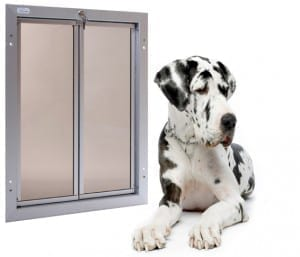 PlexiDor size Dog Door extra large