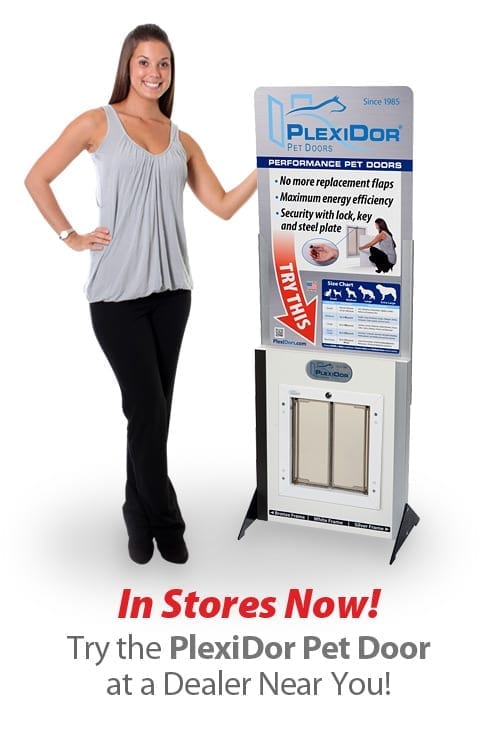 Find a dealer Canada to try the PlexiDor Dog Door