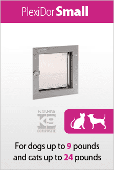 PlexiDor small for cats and small dogs